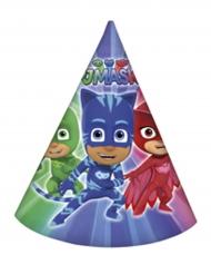 6 Partyhüte PJ Masks™