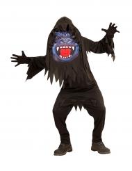 Gorilla Kostüm mit großer Maske für Jugendliche