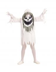 Geist-Kostüm mit Maske für Jugendliche