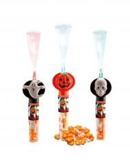 Halloween Leuchtstab mit Süßigkeiten