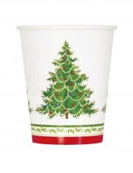 Pappbecher Weihnachtsbaum 8 Stück 27cl