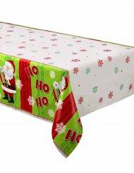 Kleiner Weihnachtsmann Tischdecke bunt 37 x 213 cm