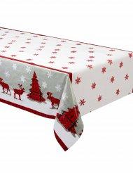 Kunststoff-Tischdecke für Weihnachten 137x213cm