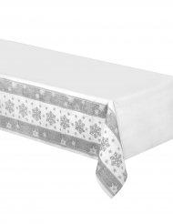 Tischdecke Schneeflocken aus Papier 137 x 259 cm