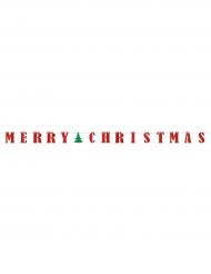 Girlande Merry Christmas 3,65 m