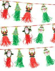 Girlande Weihnachten Figuren 2,43 m x 12,7 cm