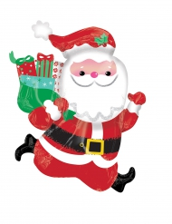 Folien-Ballon Weihnachtsmann