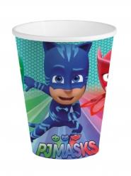 8 Papp-Trinkbecher PJ Masks™ 25cl