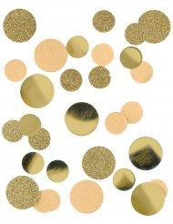 Konfetti Gold-Glitter Partydeko 30 g