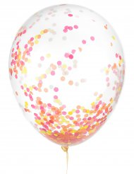 Latex Ballons Konfetti phosphoreszierend 30 cm