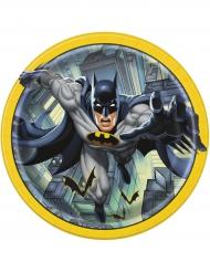 8 Pappteller Batman™ 23 cm