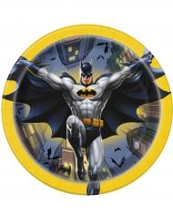 8 kleine Papp-Teller Batman™ 18 cm