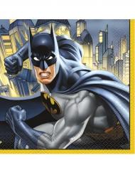 16 Servietten aus Papier Batman™ 33 x 33 cm