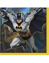 16 kleine Servietten Batman™ 25 x 25 cm