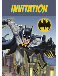 8 Einladungskarten Batman™