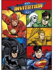 8 Einladungen und Umschläge Justice League™
