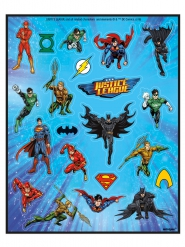4 Sticker-Folien Justice League™