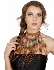 Indianerin Halskette für Damen