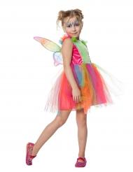 Schmetterlingsfee Kostüm für Kinder bunt