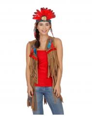 Indianer-Weste für Damen