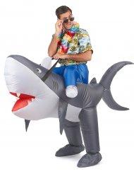 Kostüm Aufblasbarer Hai für Erwachsene