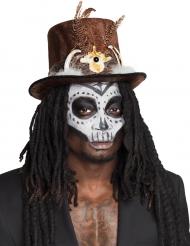 Voodoo Hut mit Haaren für Erwachsene