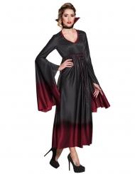 Halloween-Vampir Kostüm für Damen