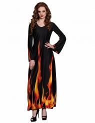 Halloween Kostüm für Damen Höllenfeuer
