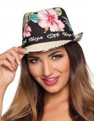 Floraler Borsalino-Hut für Erwachsene bunt