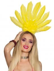 Brasilianische Kopfbedeckung für Damen gelb