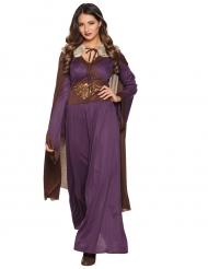 Kostüm Dame aus Norden violett
