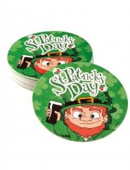 10 Untersetzer St. Patrick