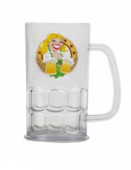 Bierkrug-Oktoberfest bunt 14 cm