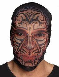 Tattoo-Maske Tribal-Muster für Erwachsene