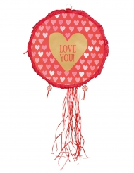 Piñata Herz Love you! 40 cm