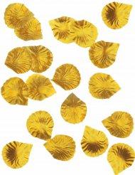 Deko Rosenblütenblätter in gold