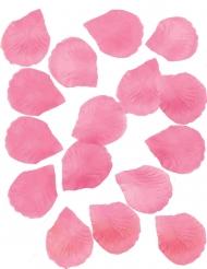 Rosenblätter aus Stoff pink