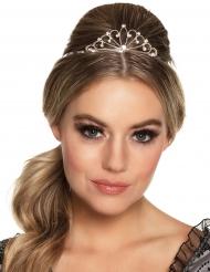 Mini-Krone für Damen silber