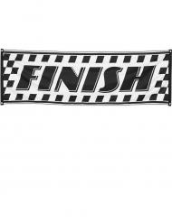 Banner mit dem Schriftzug Finish 220 cm