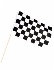 Renn-Flagge schwarz-weiß karriert 30 x 45cm