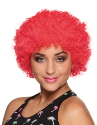 Rote Afro oder Clown Perücke für Erwachsene