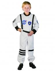 Weißes Astronauten-Kostüm für Kinder