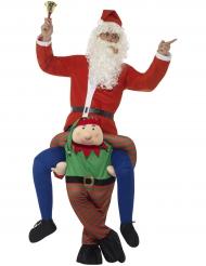 Carry MeAuf dem Rücken eines Weihnachtswichtels