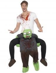 Kostüm Auf dem Rücken eines Zombie