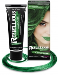 Auswaschbare Haarfarbe Tönung grün 70 ml