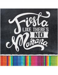 16 Fiesta Servietten klein