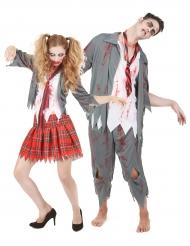 Halloween Paarkostüm Zombie