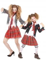 Zombie Schülerin Mutter - Tochter - Paarkostüm für Halloween