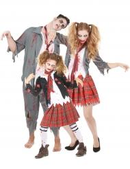 Familien Kostüm Zombie für Halloween