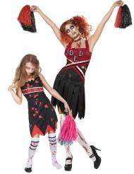Zombie Cheerleader Paarkostüm für Mutter und Tochter